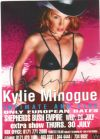 Celebrity autograph: Kylie Minogue